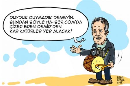 Eren Demir ha-ber.com için çizecek
