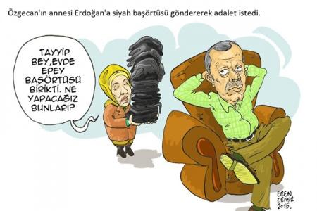 Özgecan'ın annesi Erdoğan'da adalet istedi