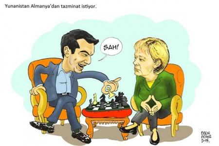 Yunanistan Almanya`dan tazminat istiyor