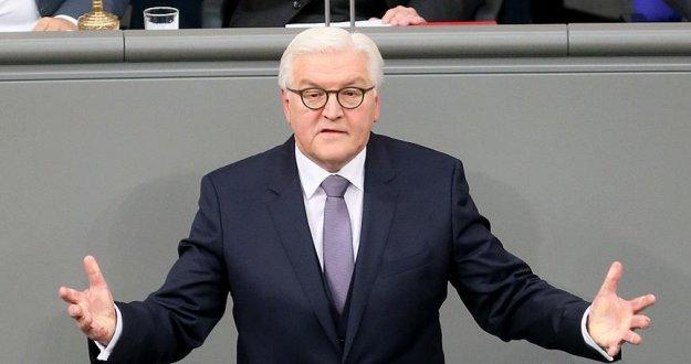 Cumhurbaşkanı Steinmeier'den halka teşekkür mesajı