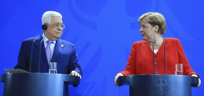 Filistin Devlet Başkanı Abbas Almanya'da