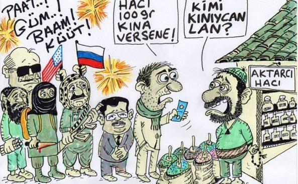 Aktarcı Hacı: Kimi kınayacaksınız?!!