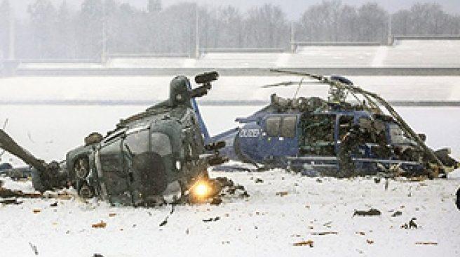 Mayorka Adası'nda Küçük Uçakla Helikopter Çarpıştı