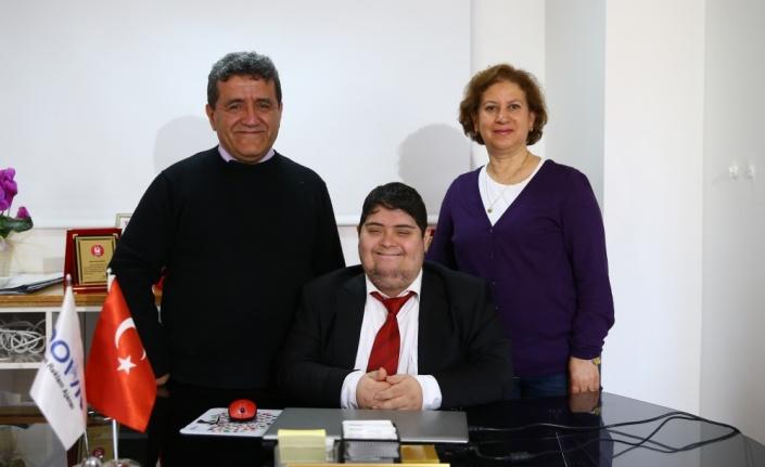 Down sendromlu ilk girişimci, engelli gençlere örnek oluyor