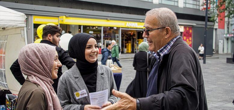 Müslüman kadınlara yönelik ayrımcılığa karşı sokak aksiyonu