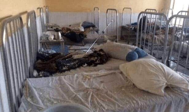 Afganistan'da hastane yakınına bombalı saldırı