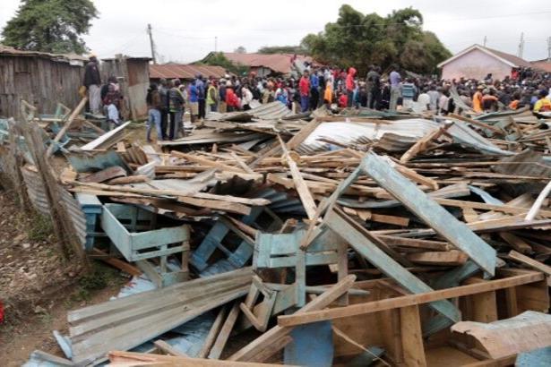 Kenya'da okulun çatısı çöktü: 7 öğrenci yaşamını yitirdi