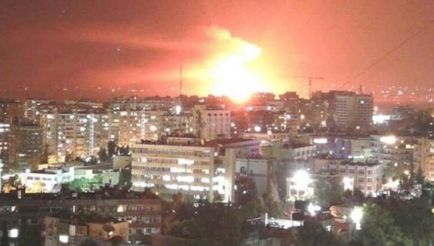 Suriye medyası: Şam kırsalında bir İHA imha edildi