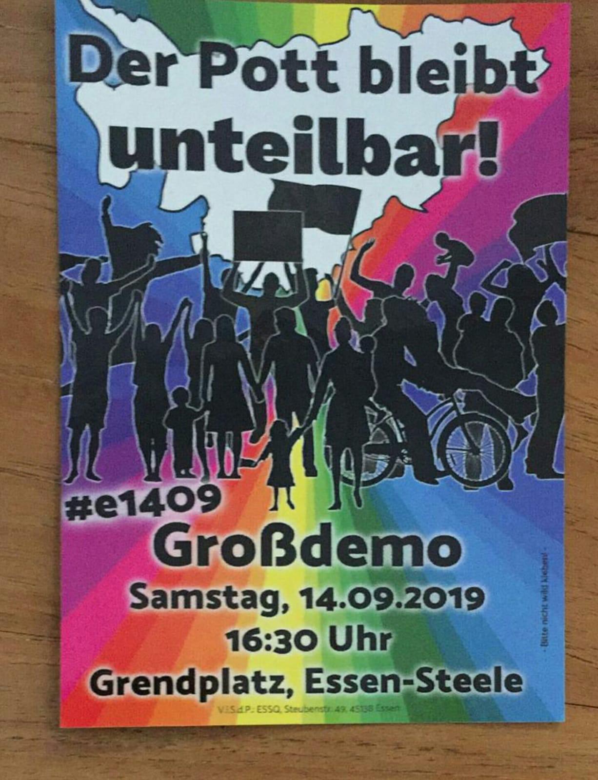 Essen-Steele' de Neonaziler birlikte protesto edilecek