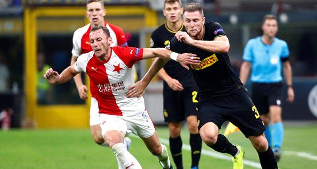 Inter, Slavia Prag ile 1-1 berabere kaldı