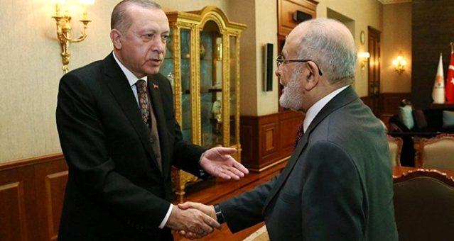 Karamollaoğlu, Cumhurbaşkanı Erdoğan'la yaptığı görüşmenin bilinmeyenlerini anlattı