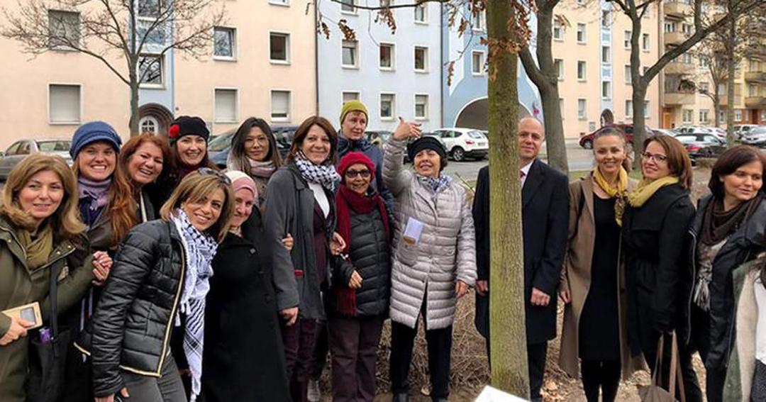Kadınlar arası dostluk ağacı Antalya'da dikilecek