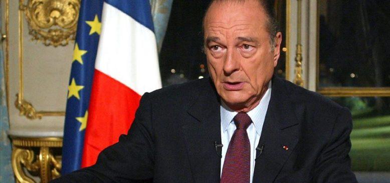 Fransa'nın eski Cumhurbaşkanı Jacques Chirac hayatını kaybetti
