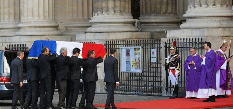 Eski Fransa Cumhurbaşkanı Chirac için cenaze töreni düzenlendi
