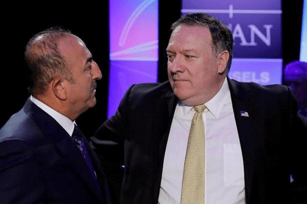 Çavuşoğlu ile Pompeo arasında 'Mazlum Kobani' görüşmesi