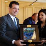 İmamoğluİstanbul-Paris 'Kardeş Kent' Protokolunu İmzaladı