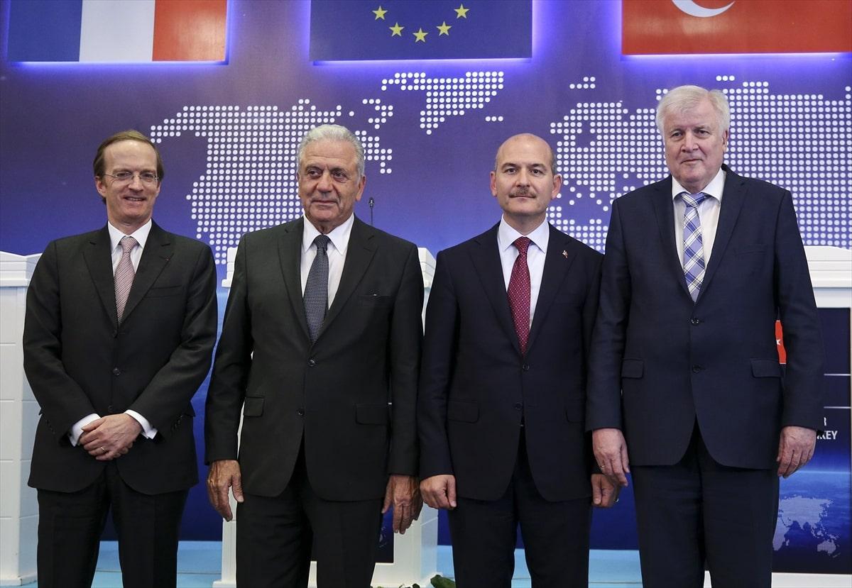 Türkiye, AB, Almanya ve Fransa göç sorununu masaya yatırdı