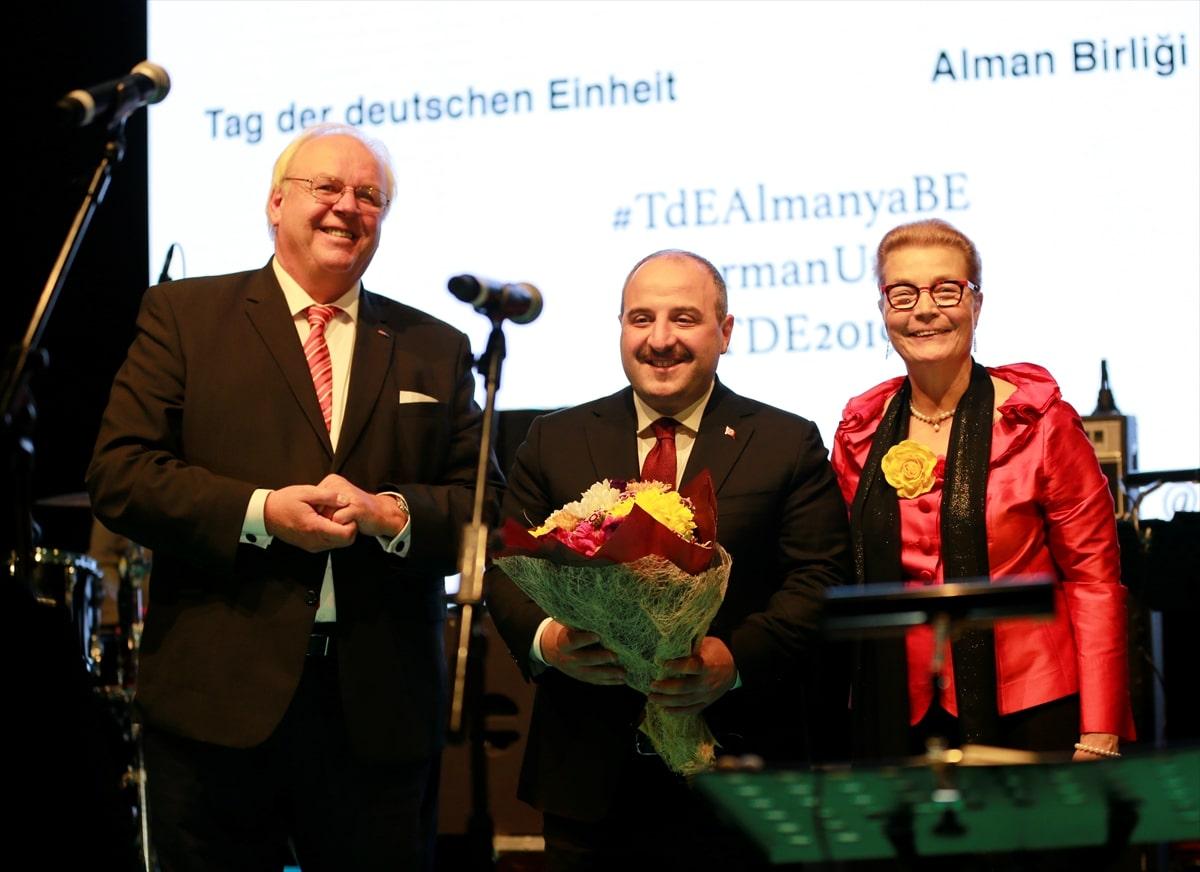 Alman Birliği Günü Resepsiyonu