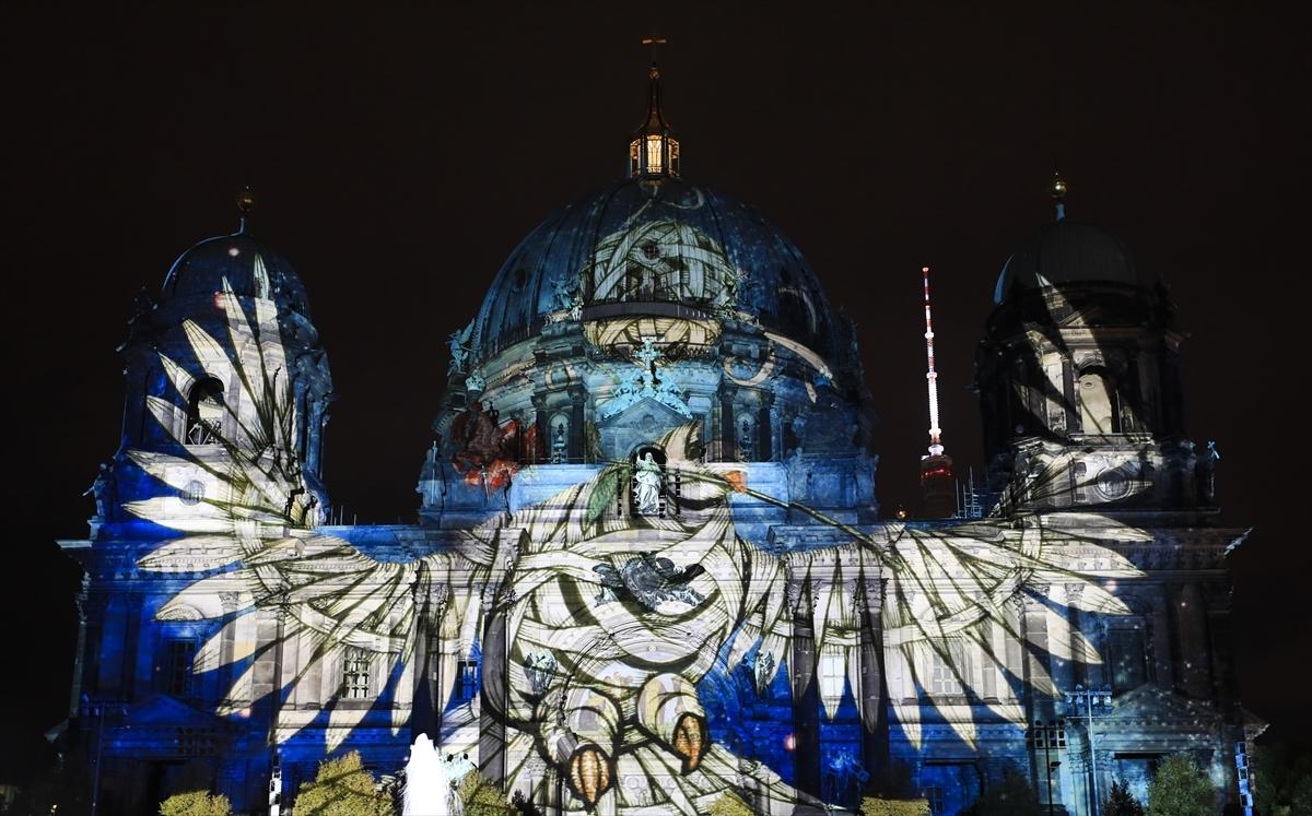 "Berlin'de ''Festival of Lights"" isik festivali başladı"