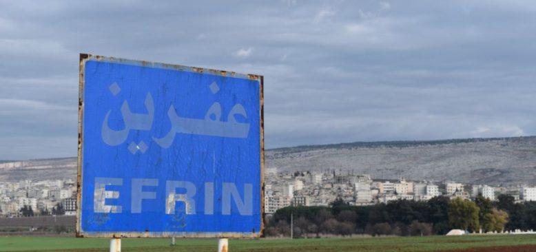 Afrin'de Pazar Yerinde Bombalı Saldırı