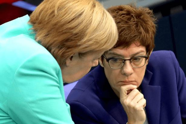 Almanya'dan Suriye'de 'uluslararası güvenlik bölgesi' önerisi
