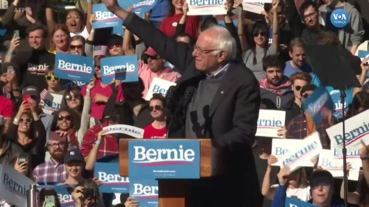Bernie Sanders Seçim Meydanlarına Geri Döndü