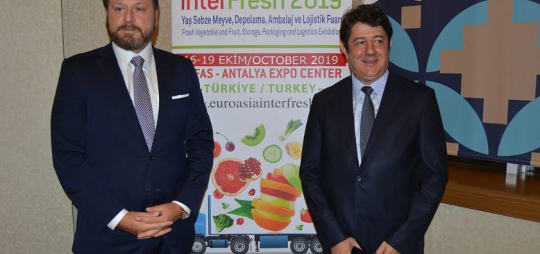 INTERFRESH EURASİA Fuarı açılıyor