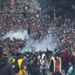 Ekvador'da hükümet başkentten kaçtı
