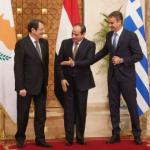 Mısır'daki üçlü zirvede Türkiye'ye kınama
