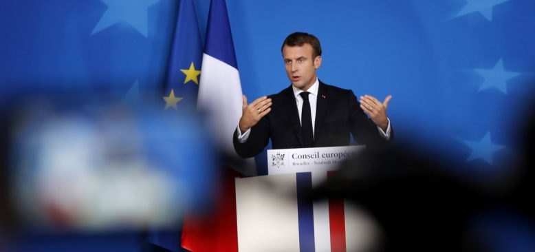 Macron'dan Londra'da Suriye için 4'lü Zirve Açıklaması