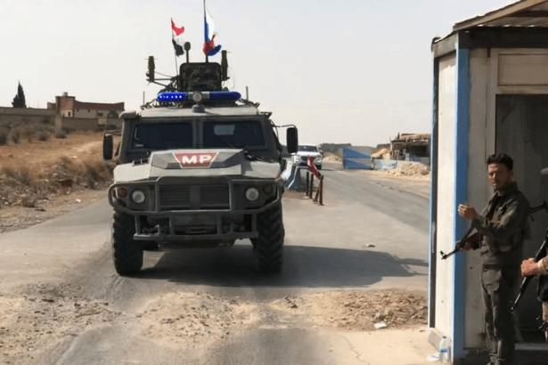 Rus askeri polisi Suriye'nin kuzeyinde devriyeye başladı