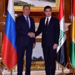 Rusya Dışişleri Bakanı Erbil'de: Barzani'lerle görüştü