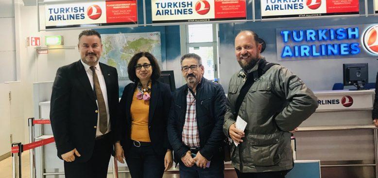 Nürnberg Belediye Başkanı Maly'i temsilen Antalya'ya uçtular