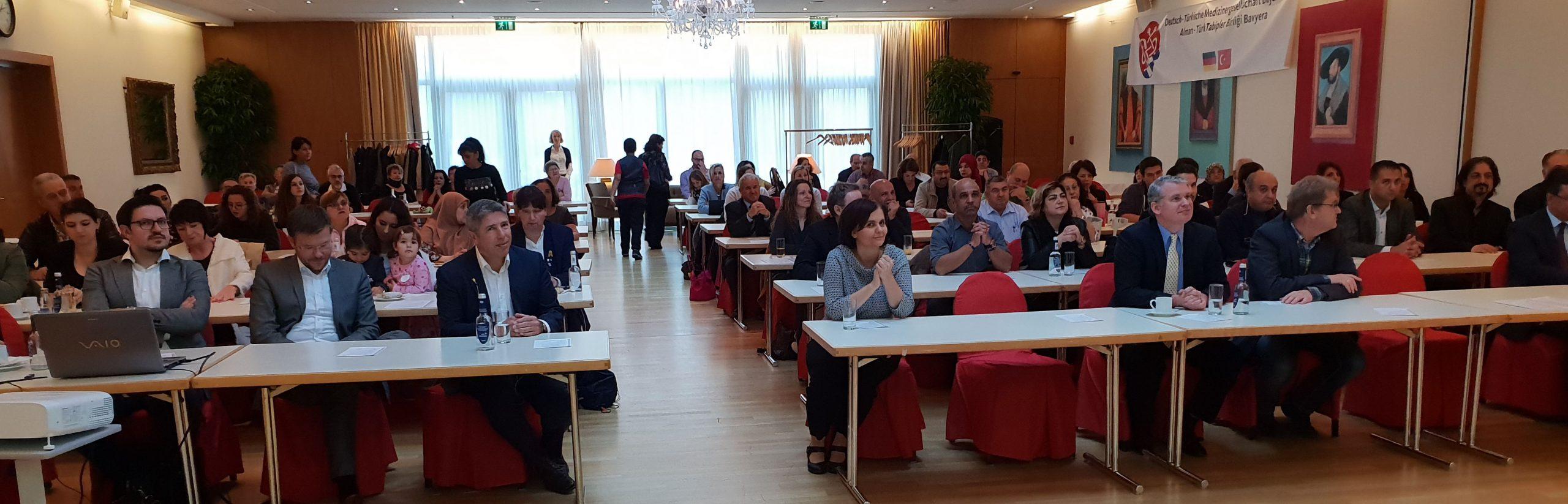 Nürnberg'de sağlık semineri