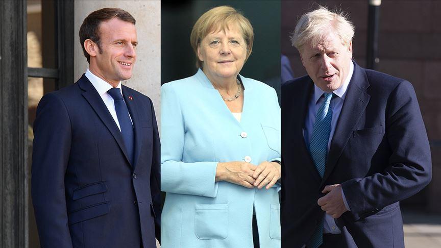Macron, Merkel ve Johnson Erdoğan ile görüşecek