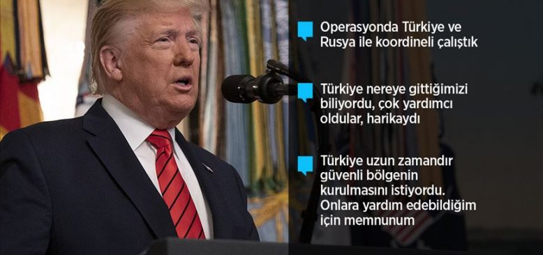 Trump: Bağdadi ölü ele geçirildi