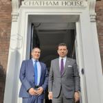 İmamoğlu Londra'da Chatham House'u ziyaret etti
