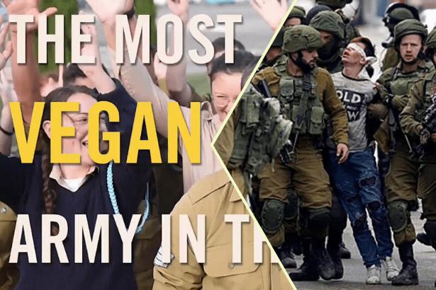 İsrail ordusundan halkla ilişkiler atağı: 'En vegan asker bizim asker'