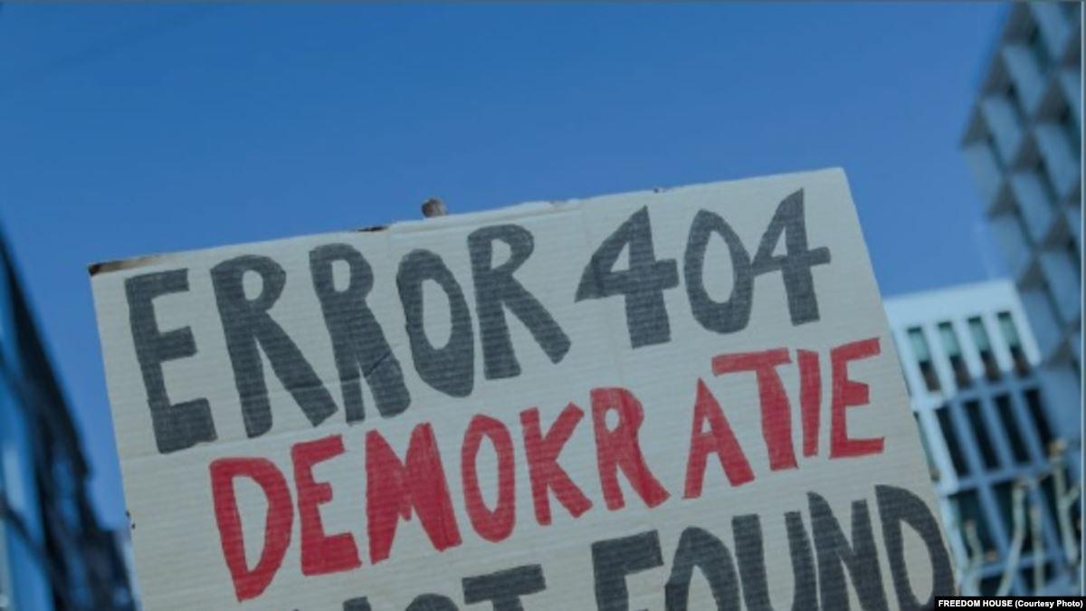 'Türkiye Yine Özgür Olmayan Ülkeler Arasında'