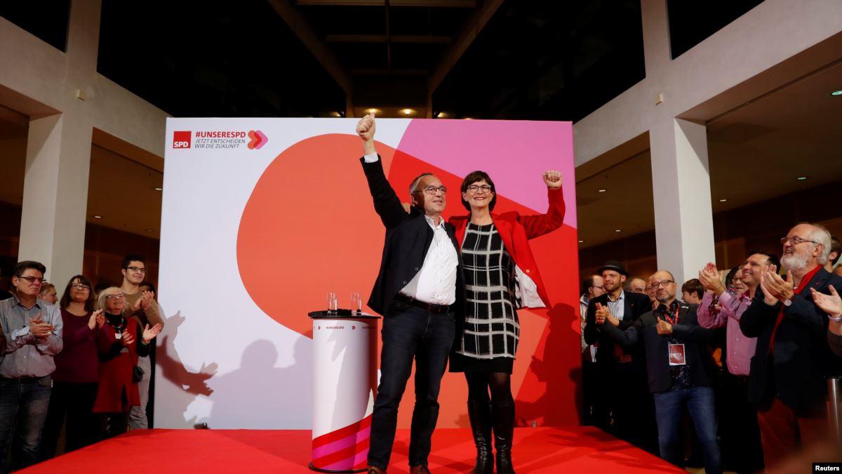 Almanya'da SPD ve AfD'nin Yeni Liderleri Belli Oldu