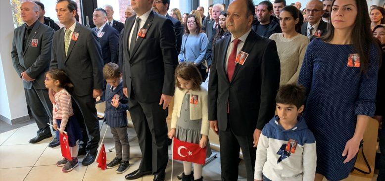 Büyük Önder Atatürk Avrupa`da da anıldı