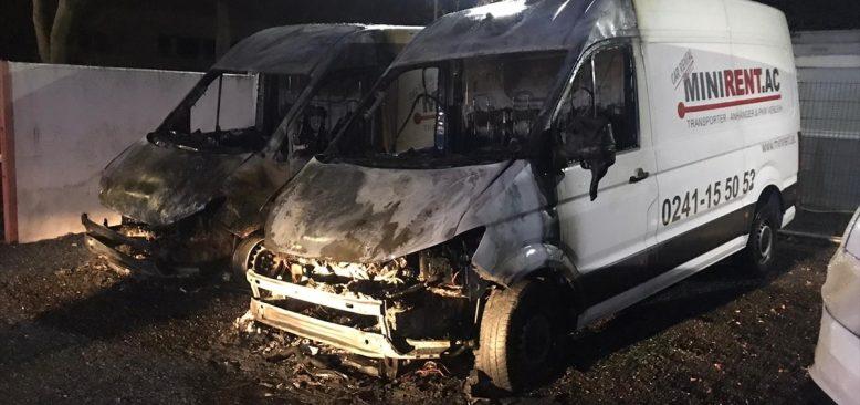 Almanya`da Türk iş adamına ait araçlar kundaklandı