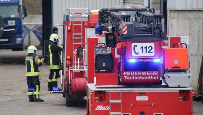 Almanya'da madende patlama meydana geldi