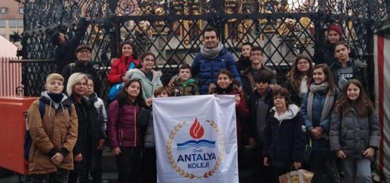 Özel Antalya Kolej Öğrencileri Almanya'da