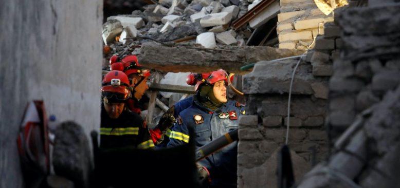 Arnavutluk'taki Depremde Ölü Sayısı Artıyor