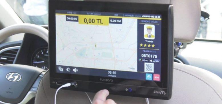 Başkentte Akıllı Taksi Dönemi Başlıyor