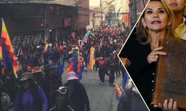 Bolivya'da halk sokakta, Anez'den Morales'in seçime girmesine 'yasak'