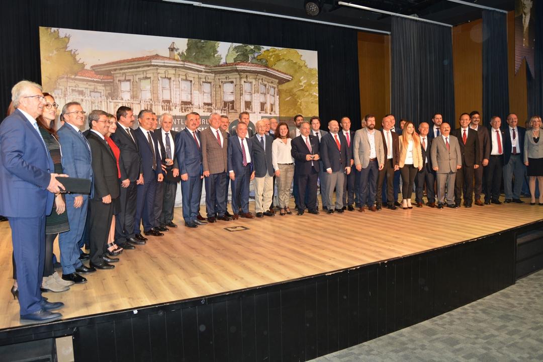 Tarih ve kültürü koruyan belediyelere ödülleri verildi