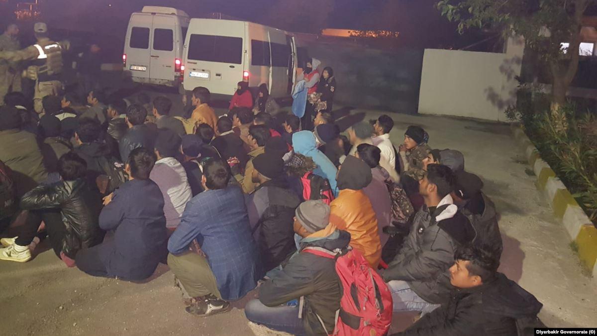 Diyarbakır'da Mülteci Operasyonu