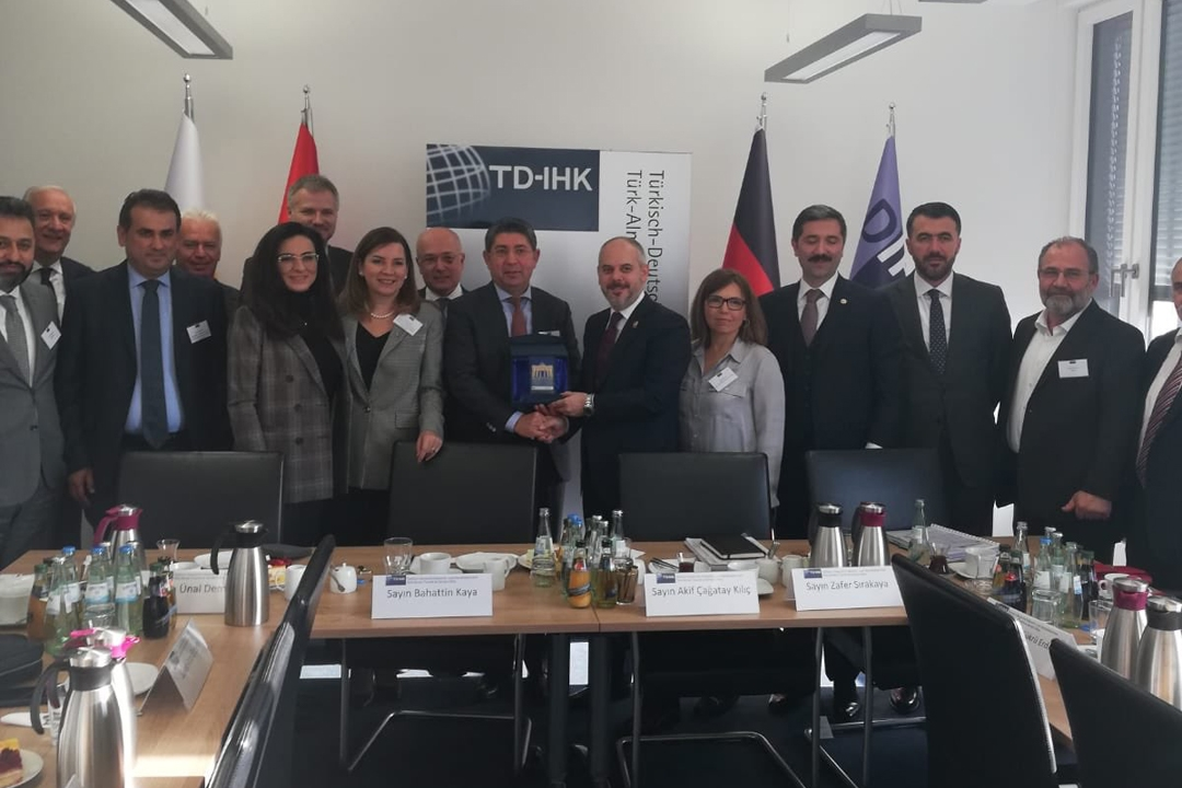 Türkiye-Almanya Parlamentolar Arası Dostluk Grubu Berlin'de
